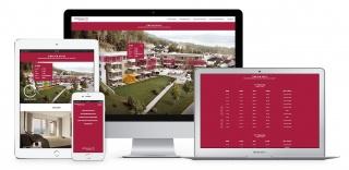 Lakópark honlap és vizuális lakásválasztó